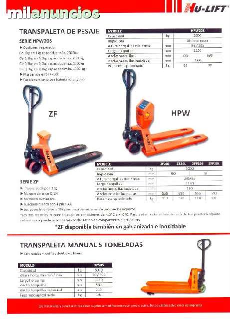 TRANSPALETAS DE PESAJE - foto 3