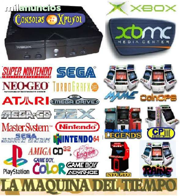 MULTIBOX RECREATIVA MAME COINOPS