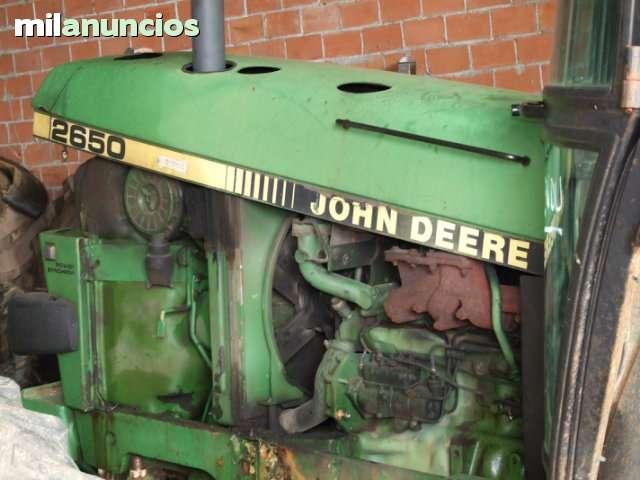 DESGUACE AGRICOLA - JOHN DEERE FIAT SAME