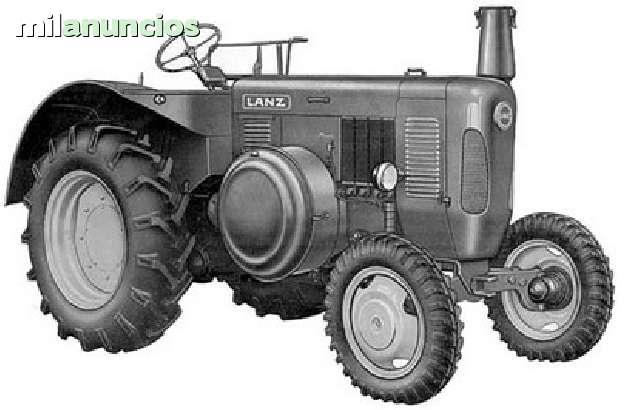 TRACTOR LANZ JOHN DEERE IBERICA 60 65CV