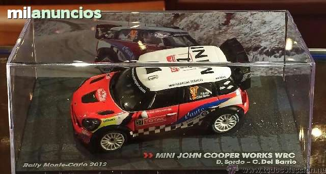 IXO ALTAYA 1//43 MINI JOHN COOPER WORKS WRC D.SORDO C.DEL BARRIO MONTECARLO 2012