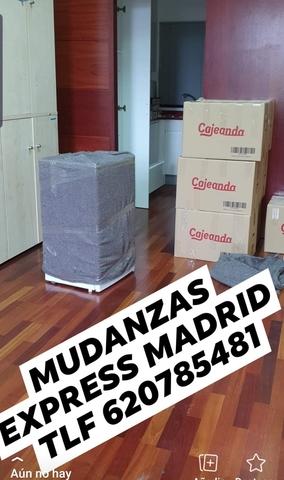 MUDANZAS PORTES EXPRES MADRID  620785481 - foto 1