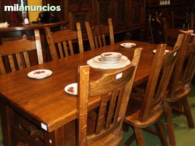 MIL ANUNCIOS.COM - Mesas rusticas,comedor,cocina,centro