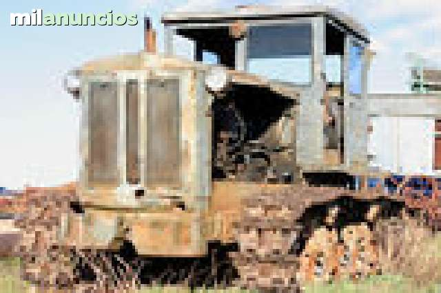 CHATARRA TRACTOR CAMION PALA