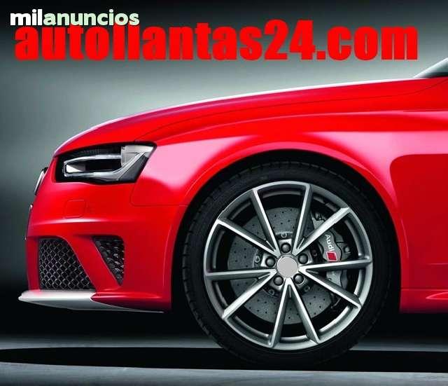 JUEGO LLANTAS RS4 2014 18 Y NEUMATICO