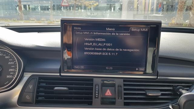 MAPA AUDI MMI 3G BASIC* /3G HDD* /3G+ HDD*