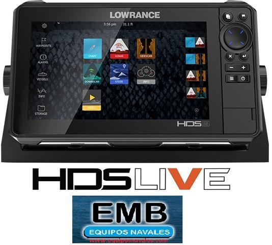 GPS PLOTTER SONDA LOWRANCE HDS 9 GEN3