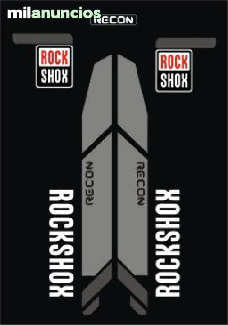 KIT PEGATINAS ROCK SHOX RECON 2013