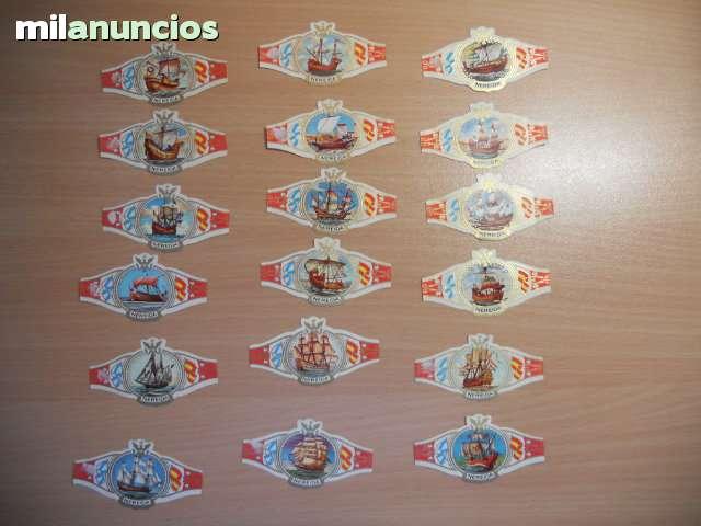 18 Vitolas Serie Barcos