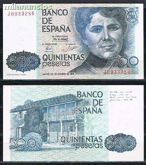 500 Pesetas Del 1979 Sin Sc
