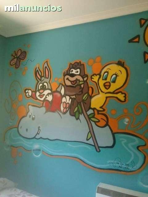 GRAFFITI DECORATIVO PROFESIONAL - foto 7