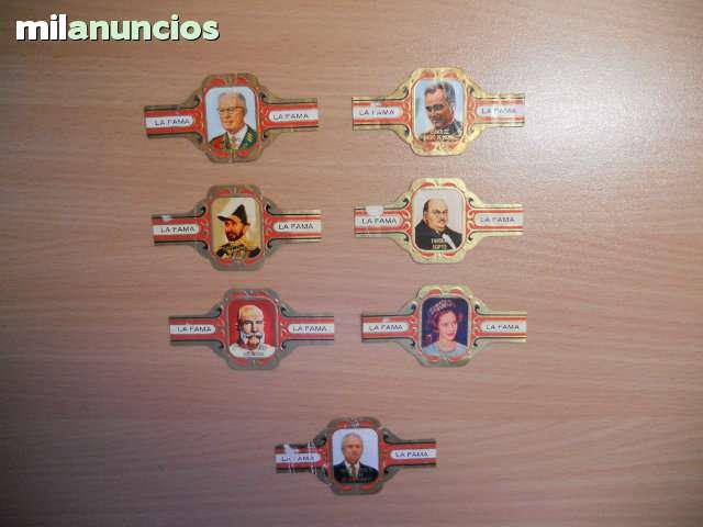 7 VITOLAS PERSONAJES PUROS LA FAMA - foto 1