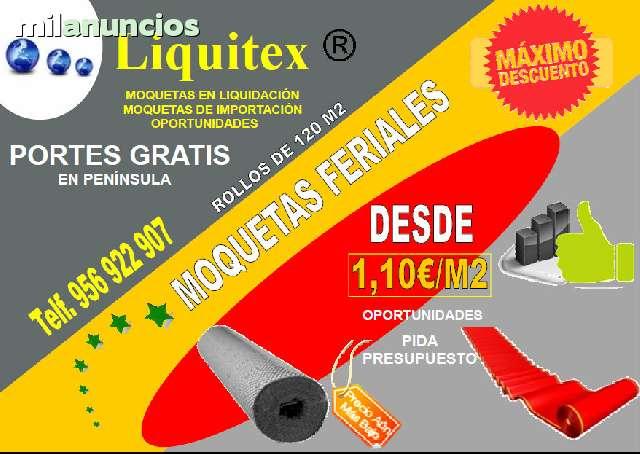 GRANDES LIQUIDACIONES EN MOQUETAS - foto 1