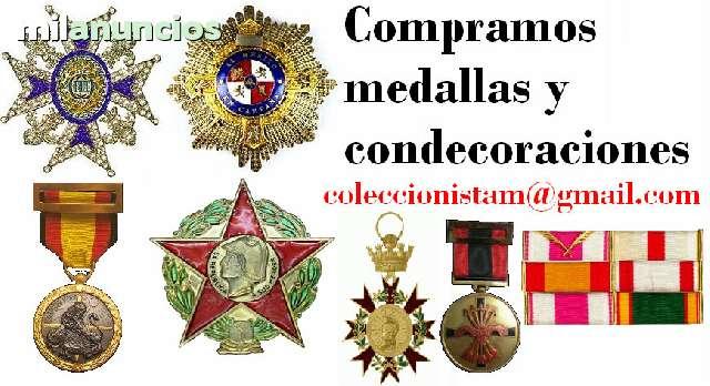 Compra De Medallas Y Condecoraciones