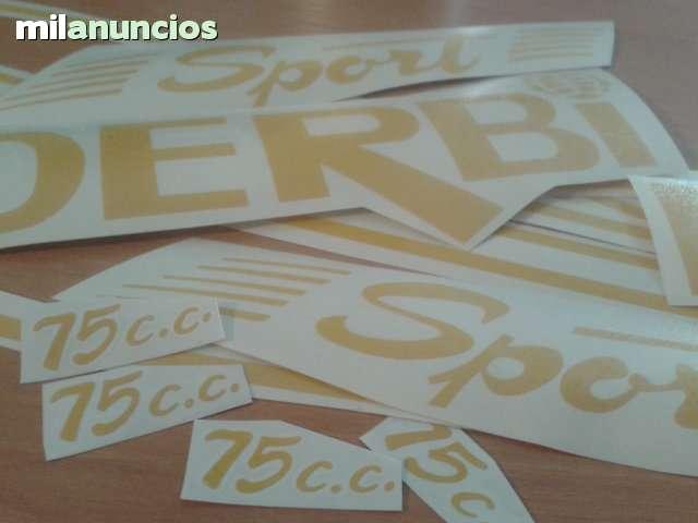 ADHESIVOS DERBI 75 SPORT 1001