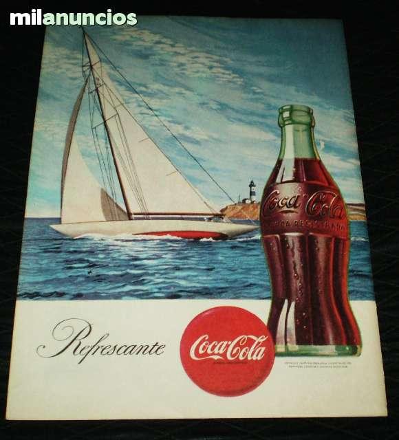 Anuncio De Coca Cola - Ford. 1945