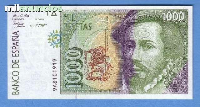 1000 Pesetas 1992 Serie 9A Sin Sc