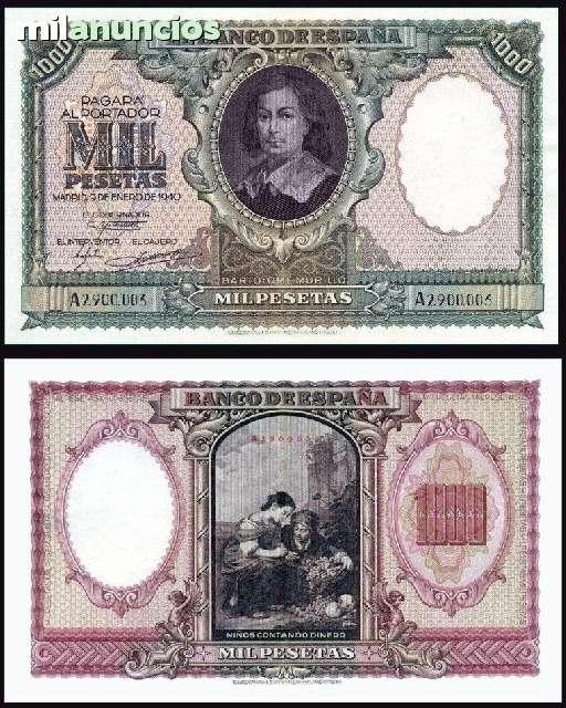 1000 Pesetas 1940 Ebc+
