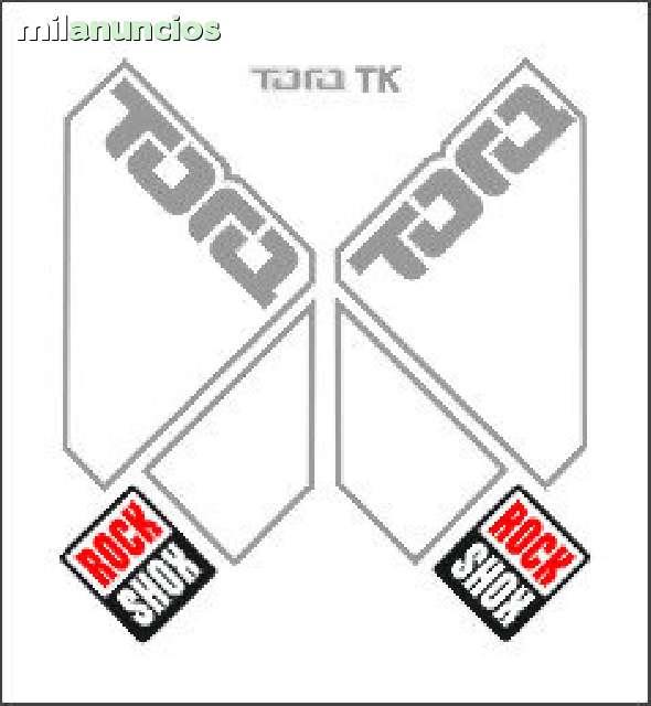 KIT PEGATINAS ROCK SHOX TORA 1