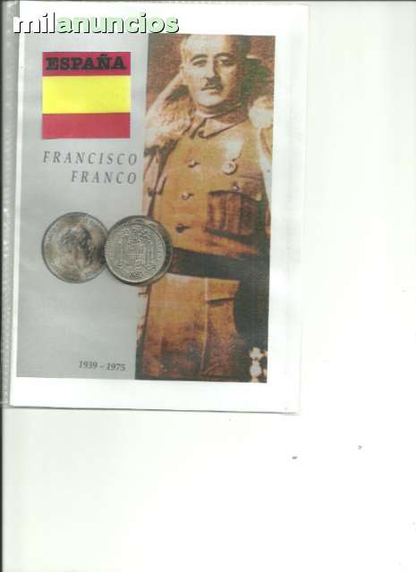 España, Moneda De 5 Pts. De Franco 1949