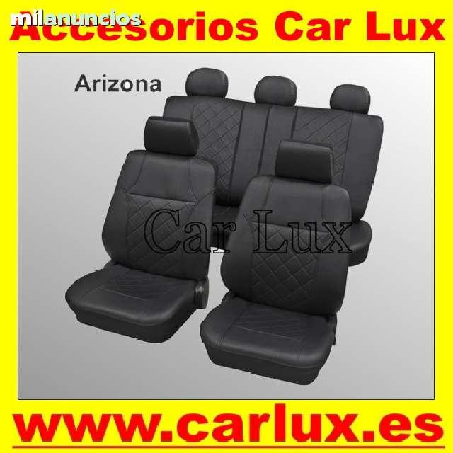 Negro-azules fundas para asientos para Volkswagen Tiguan asiento del coche referencia sólo asiento del conductor