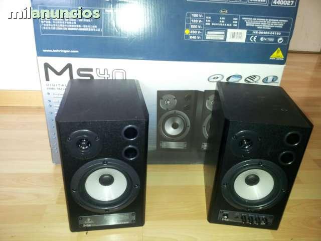 MONITORES PROFESIONALES DE ESTUDIO DJ
