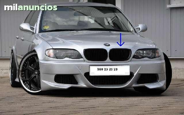 Calandra Negra Para Bmw E46 01 05
