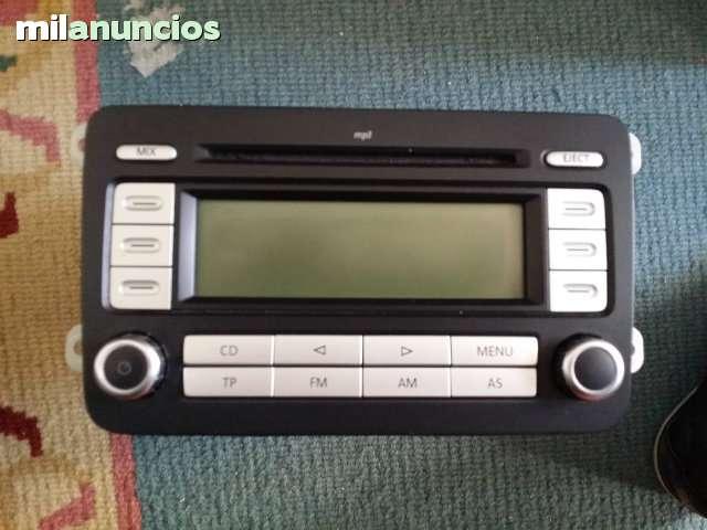 RADIO RCD 300 MP3 VW GOLF 5 V TOURAN