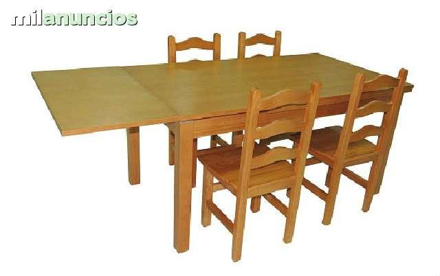 MIL ANUNCIOS.COM - Mesas baratas madera y sillas cocina bar