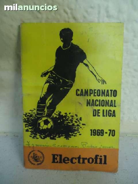 ANTIGUO CALENDARIO DE FÚTBOL 1969-1970 - foto 1