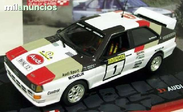 Audi Quattro A2 H. Mikkola -A.Hertz 1983