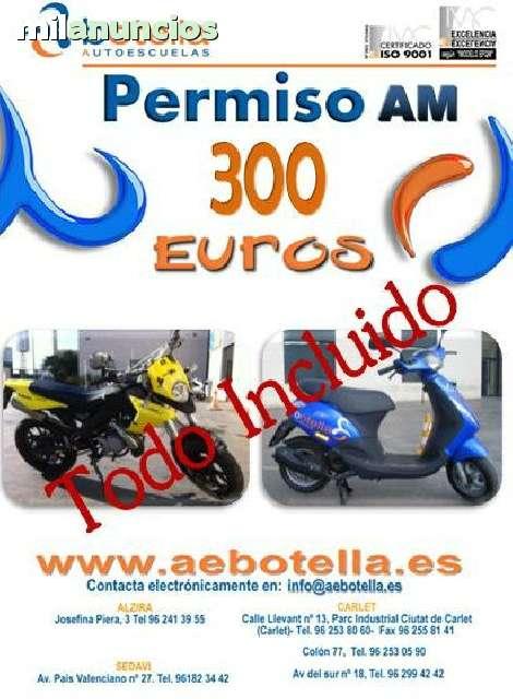 PERMISO AM,  A1 Y A2 ALCIRA Y VALENCIA - foto 3