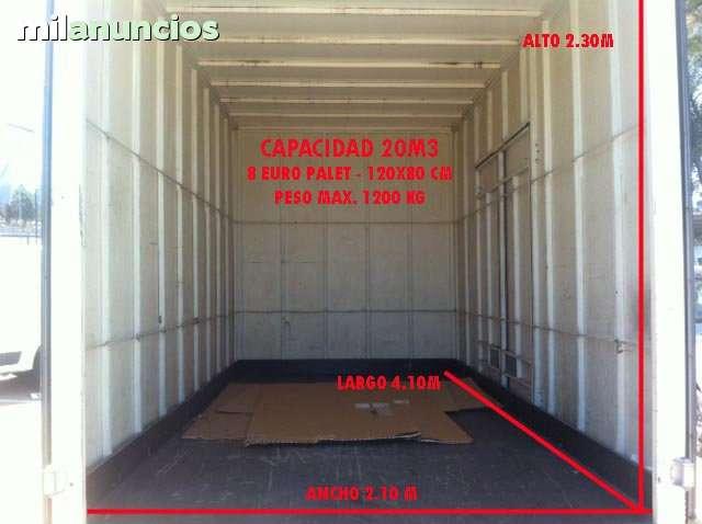 TRANSPORTES- FURGONETA 12M3 Y CAMÓN 20M3 - foto 2