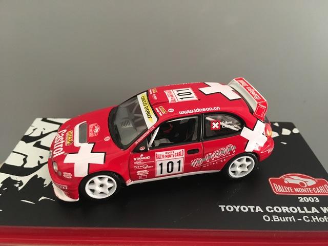 Rallye Montecarlo Toyota Corolla Wrc