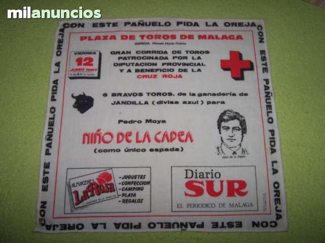 LOTE DE CARTELES DE TOROS DE TELA - foto 2