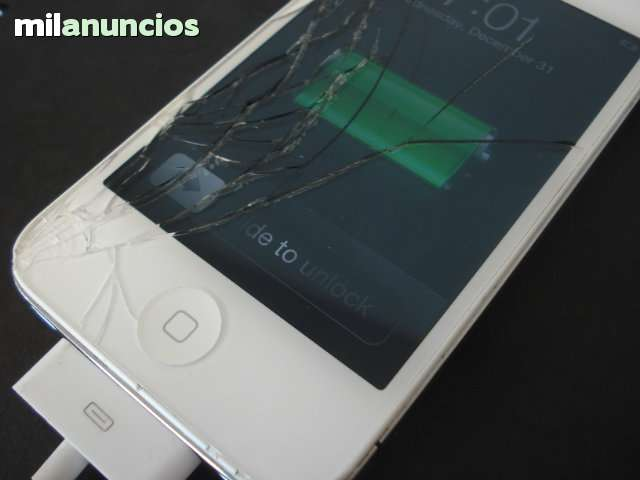 IPHONE 5 IPAD IPOD CAMBIAR PANTALLA ROTA