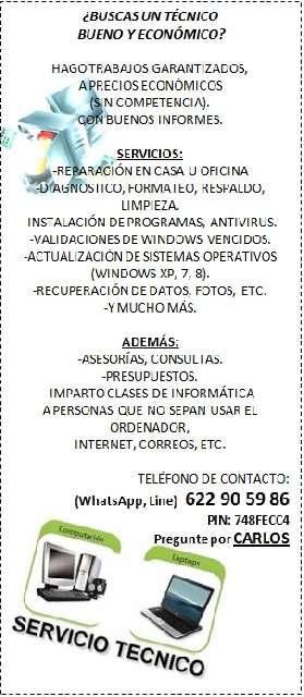 REPARACION DE ORDENADORES - foto 1