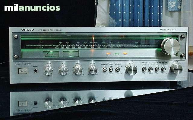 AMPLIFICADOR VINTAGE ONKYO TX-2500