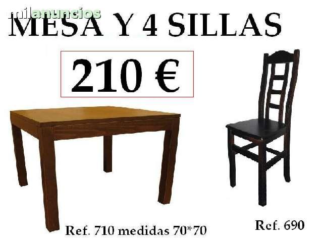 SILLAS MESAS Y TABURETES HOSTELERIA - foto 3