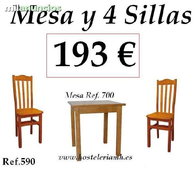 SILLAS MESAS Y TABURETES HOSTELERIA - foto 4