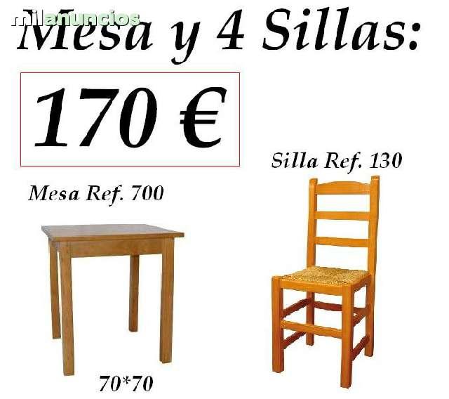 SILLAS MESAS Y TABURETES HOSTELERIA - foto 5