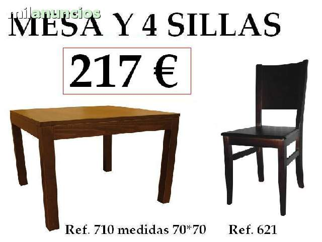 SILLAS MESAS Y TABURETES HOSTELERIA - foto 6