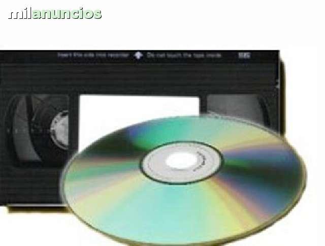 TUS VIEJAS CINTAS A DVD PRECIO ECONOMICO - foto 1