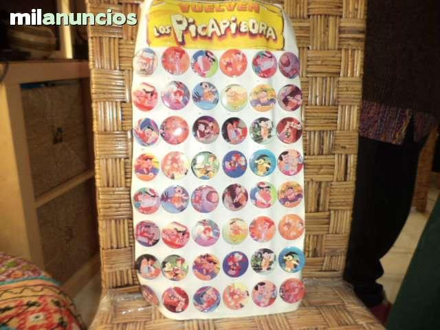 Chapas De Los Picapiedra De 48 Chapas