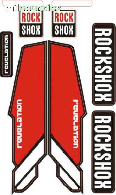 KIT PEGATINAS ROCK SHOX REVELATION
