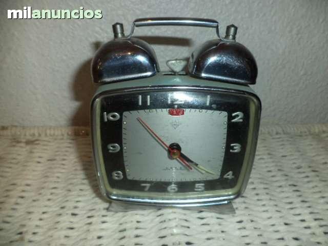 Reloj Despertador De Los 70 Funciona Mid