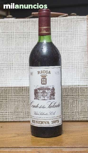 Conde De Salceda Tinto,Rioja Re. 1975