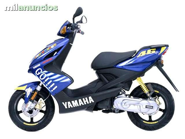 Yamaha Aerox 50cc Valentino Rossi