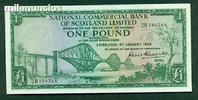 Escocia 1 Libra 1966 Ebc+