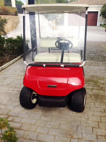 YAMAHA-EZGO-CLUB CAR - BUGGIE GOLF GASL-ELECT - foto 2